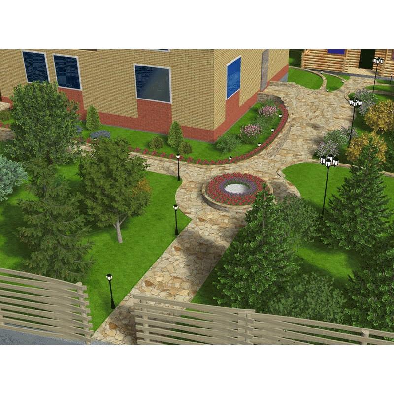 Garden composer 3d plus pl opinie for Broderbund 3d home landscape design