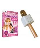 Solidny MIKROFON BEZPRZEWODOWY + Karaoke dla dziewczynek DVD