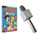 Solidny MIKROFON BEZPRZEWODOWY + Karaoke dla dzieci DVD